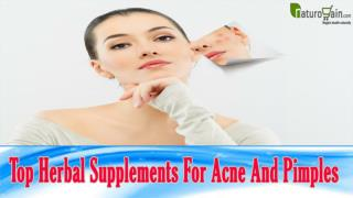 Top Herbal Supplements For Acne And Pimples That You Should Not Miss