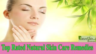 Top Rated Natural Skin Care Remedies That You Should Not Miss