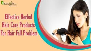 Effective Herbal Hair Care Products For Hair Fall Problem