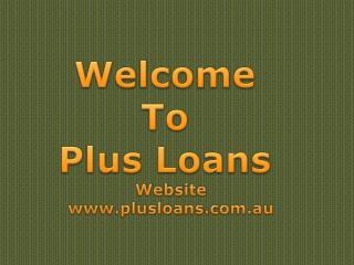 Personal Loans - Plus Loans