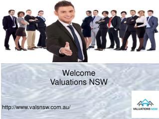 Complete your property valuation service with Valuations NSW