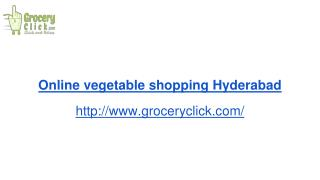 Online vegetable shopping | Groceryclick