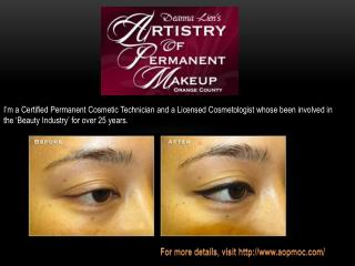 Permanent Cosmetics Orange County