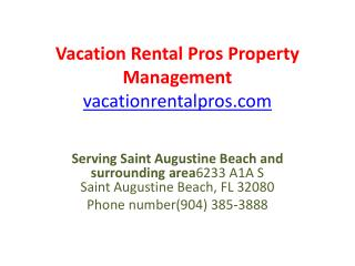 Vacation Rental Pros Property Management