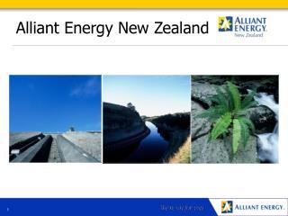 Alliant Energy New Zealand