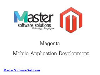 Magento Mobile App Development