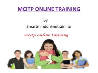 MCITP Online Training classes in Hyderabad,India,USA,UK