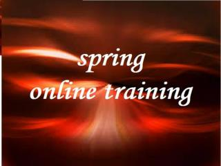 Spring Online Training classes in Hyderabad,India,USA,UK