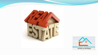 Real Estate By Madhavaram Constructions