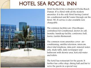 Hotel Sea Rock Inn