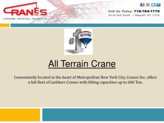 All Terrain Crane