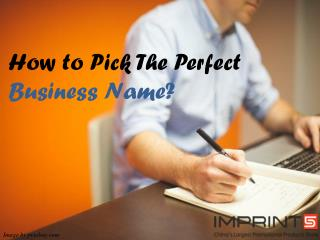 How to Pick a Brand Name for Your Business?
