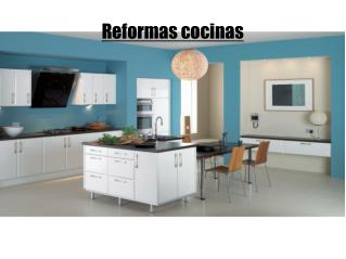 Reformas cocinas