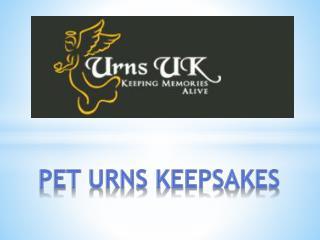 Pet Urns Keepsakes