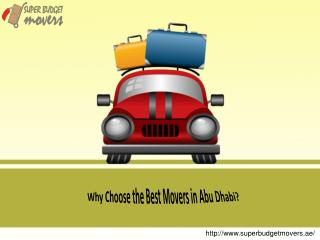 Why Choose the Best Movers in Abu Dhabi?