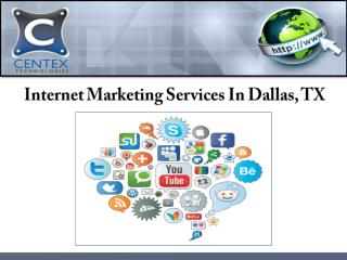 Internet Marketing Services In Dallas, TX