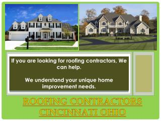 Roofers Cincinnati