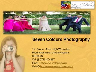Wedding Photography Services And Professional Portrait Photographers