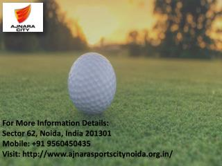 Ajnara Sports  City present 2 / 3 BHK at Affordable price in Greater Noida Call  Us   91 9560450435
