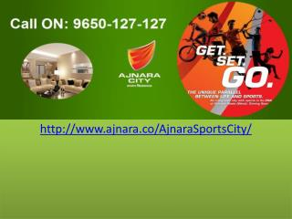 Ajanra Sports City Greater Noida West