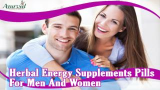 Herbal Energy Supplements Pills For Men And Women, Regain Optimum Health