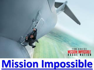 mission impossible rogue nation BlueRay