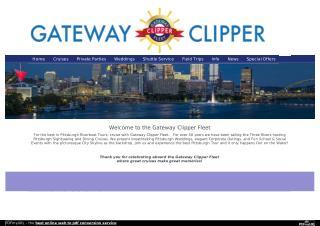 Gateway Clipper Fleet Cruises in Pittsburgh