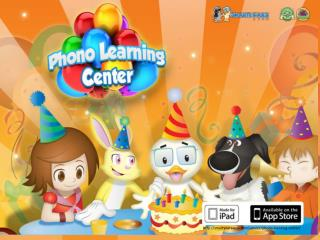 Phono learning center - Award winning apps
