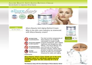 Buy Allure Beauty Anti-Aging Retinol Cream