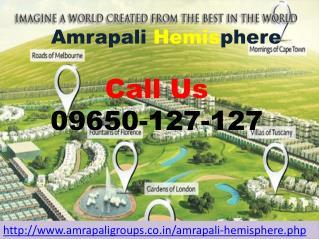 Amrapali Hemisphere Modern Luxurious Villa