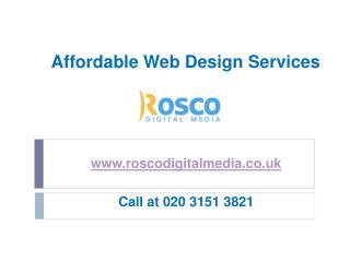 Affordable Web Design Services by www.roscodigitalmedia.co.uk