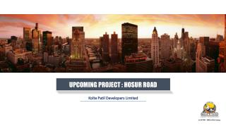 Kolte Patil iTowers Exente | Bangalore Pre launch Project