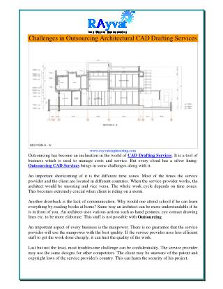 Challenges in Outsourcing Architectural CAD Drafting Services