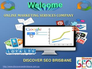 Online Marketing Services Company Brisbane