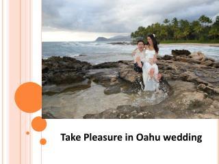 Take Pleasure in Oahu wedding