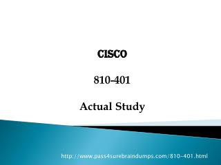 Pass4sure 810-01 Exam