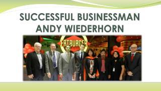SUCCESSFUL BUSINESSMAN ANDY WIEDERHORN
