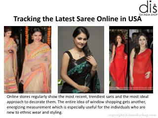Latest Saree Online Shopping in USA