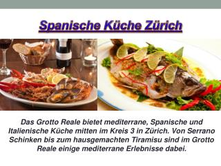 Spanische Küche Zürich