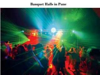 Banquet Halls in Pune