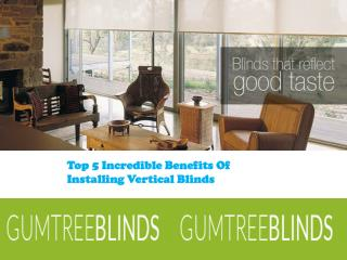 Vertical Blinds WA
