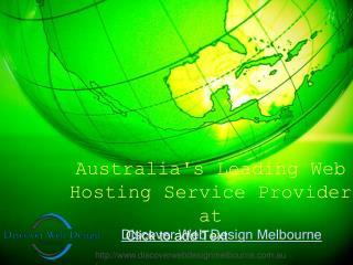 Australi's Leading Web Hosting Company