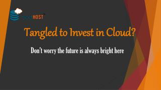 Tangled to Invest in Cloud?