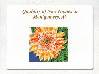 Homes for sale in Montgomery, Alabama.