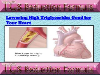 Lowering High Triglycerides for Heart