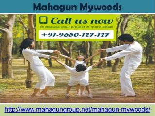 Mahagun Mywoods Luxurious Apartment