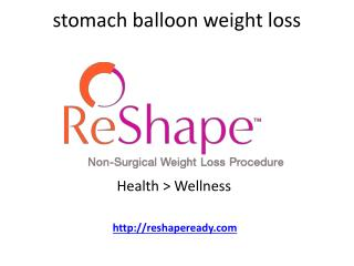 stomach balloon