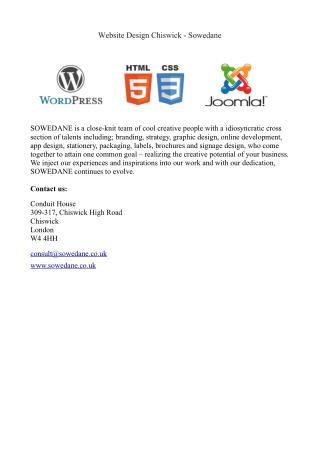 Website design chiswick