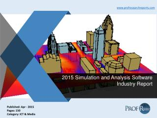 Simulation and Analysis Software Industry Growth, Market Cost and Profit 2015