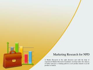Marketing Research for NPD